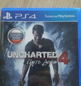 Игра PS4 Uncharted4