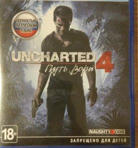 Игра для PS4 Uncharted 4: Путь вора