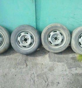Шины с дисками r13