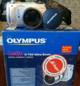 Фотоаппарат цифровой Olympus Camedia C-760 б/у