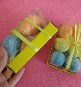 Декоративные пасхальные яйца новые