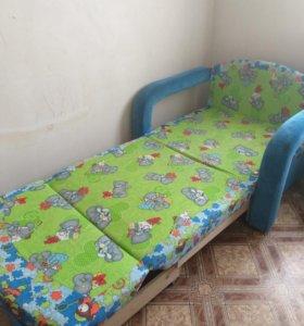 Детский кровать кресло