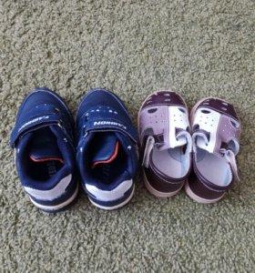 Кроссовки и сандалии для мальчика