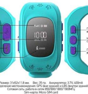 НОВЫЕ ДЕТСКИЕ GPS ЧАСЫ SMART BABY WATCH Q50