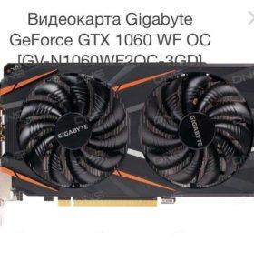 Продам видео карту gtx 1060 3 g WF Gigabyte