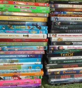DVDфильмы и мультфильмы