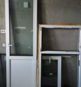 Окна KBE и балконная дверь