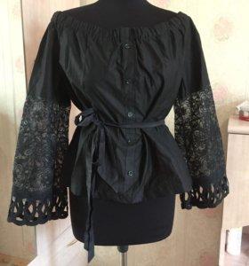 Новая блузка с кружевом