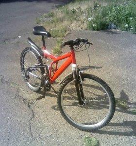 Велосипед скоростной бу