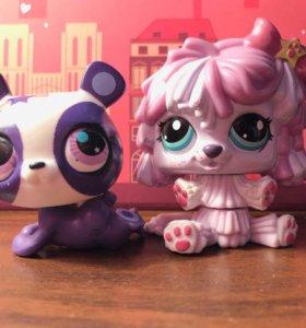 Littlest Pet Shop (LPS) - Собаки, кошка, панда