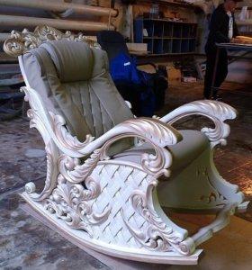 Изготовление резной мебели.