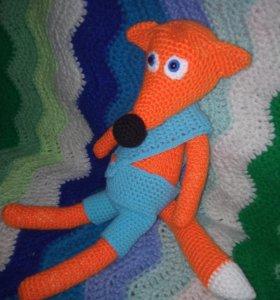 Игрушка лисёнок