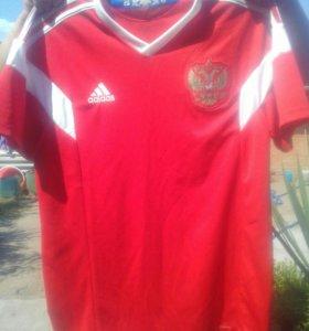 Футболка сборной России настоящая