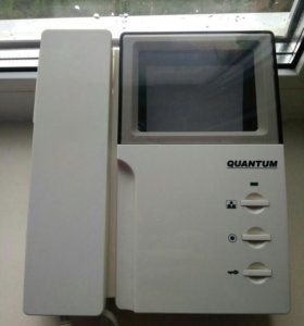 Видеодомофон Quantum Б /у.