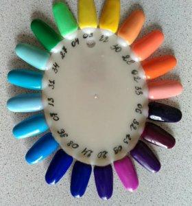 Гель-краски для ногтей 36 цветов