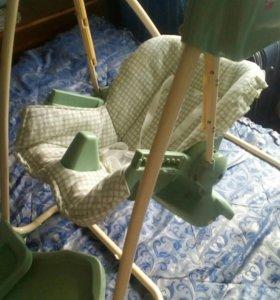 Кресло-стульчик-качеля