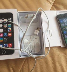 iPhone 5s 32gb чёрный отличное состояние