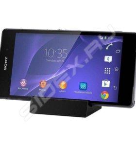 Sony Xperia Z2 (чёрный) с док-станцией для зарядки