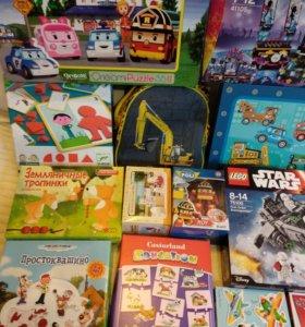 Djeco,Lego,Bruder и др.игрушки