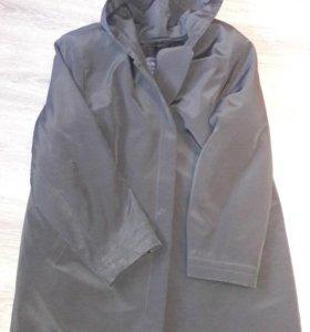 Пальто мужское утепленное.