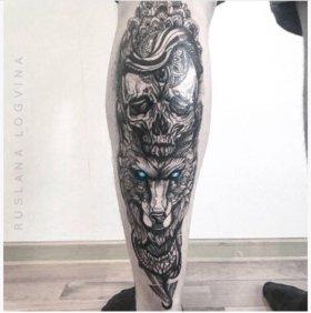 Художественная татуировка, тату