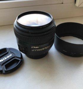 Объектив Nikon AF-S NIKKOR 50mm 1:1.4 G