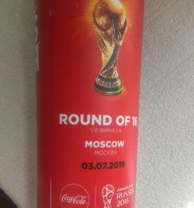 Пластиковые стаканы ФИФА 2018
