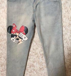 Брюки джинсовые, джинсы