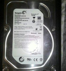 Продаю Seagate Barracuda Green 1000GB.