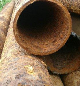 Труба под столбы