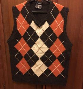 Пуловер муж шерстяной