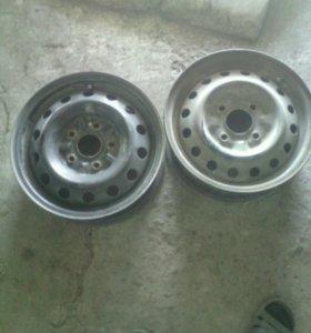 Диски 4/114 и5/114, по 1800р комплект