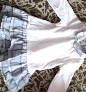 Платье для девочки 74р.+подарок