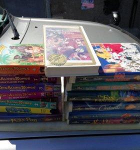 Видеокассеты на английском для детей