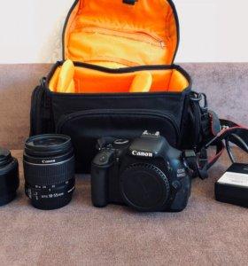 Canon 600d + два объектива