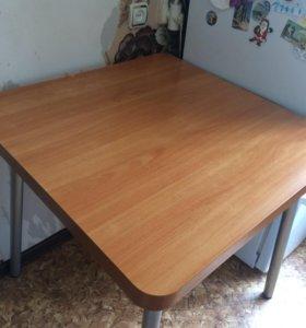 Стол квадрат 75/75/75,вразложенном виде 75/150
