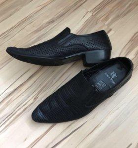 Туфли мужские натуральная кожа 40 размер