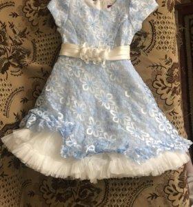 Красивое пышное платье на девлчку