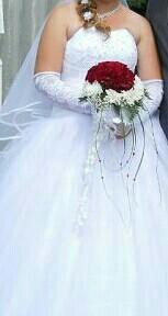 Свадебное платье размер  52-54
