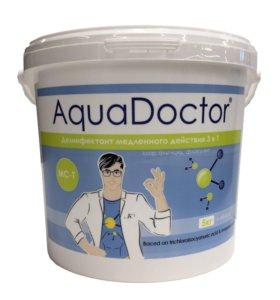 Хлор для бассейнов AquaDoctor MC-T 1 кг