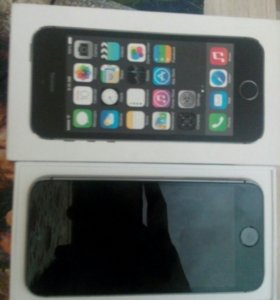 iPhone 5s space gray 16гб