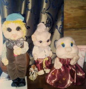 интерьерные куклы ручной работы на заказ.