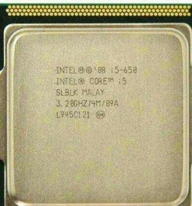 Процессор INTEL CORE i 5-650
