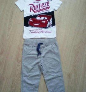 Фирменные штаны на мальчика 4 года