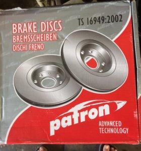 Тормозные диски на Volvo s 80 радиус 16