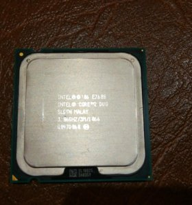 Процессор core 2 duo E7600 Wolfdale