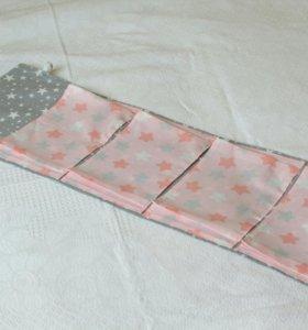 Кармашки в садик (handmade)