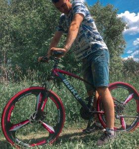 Велосипед на литье 24 скорости