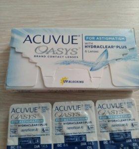 Линзы acuvue oasis astigmatism