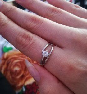 Серебряное кольцо 1